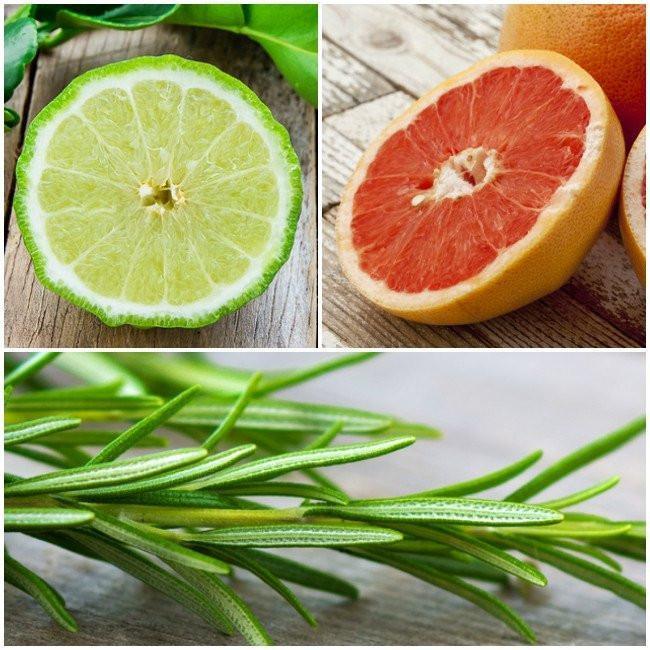 Bergamott, grapefruite és rozmaring illóolajával élénkít, frissít, energetizál