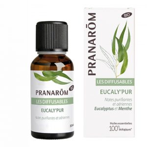 Pranarom Eucaly'pur bio illóolaj keverék párologtatásra